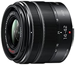 PANASONIC LUMIX G X Vario II Lens, 14-42mm, F3.5-5.6 ASPH., Mirrorless Micro Four Thirds, MEGA Optical I.S., H-FS1442AKA (USA BLACK)