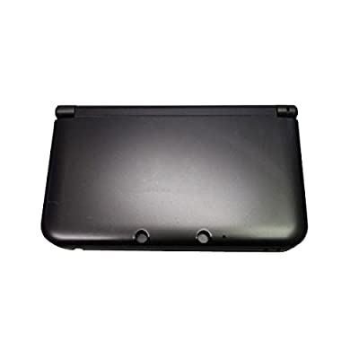 OSTENT Full Housing Shell Case Cover Replacement Compatible for Nintendo 3DS XL 3DS LL - Color Black