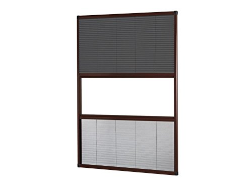 empasa Fliegengitter Insektenschutz Dachfenster Plissee Sonnenschutz 'MASTER DUO' Alu Alurahmen Selbstbausatz