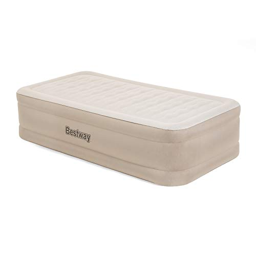 BESTWAY 69048 - Cama Hinchable Air Mattress Twin Doble 191x97x46 cm Inflador Integrado