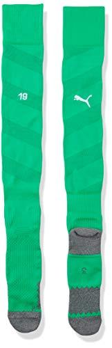 Puma Erwachsene Team BVB Spiral Socks, Bright Green White, 1