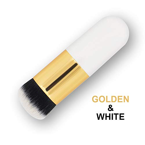 Le Pinceau De Maquillage De Base Convient Aux Dames Et Aux Maquilleurs, Poignée En Plastique Puddle Pubdle Foundation Brush Portable BB Cream Outils De Maquillage En Poudre Libre