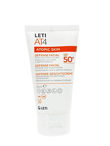 LETI AT4 Defense SPF 50+ Gesichtscreme, 50 ml