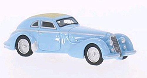 Alfa Romeo 8C 2900 B, hellblau, RHD, 1938, Modellauto, Fertigmodell, BoS-Models 1:87