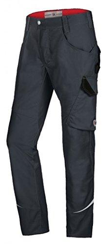 BP Overall, Stehkragen, verdeckter Reißverschluss und Druckknopfband, 245,00 g/m², Nachtblau/Schwarz ,52/54n