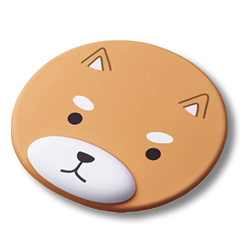 ELECOM Animal Mouse Pad with Wrist Rest Ergonomic Design Reduce Fatigue Home School Office Gift, Dog (MP-AN01DOG)