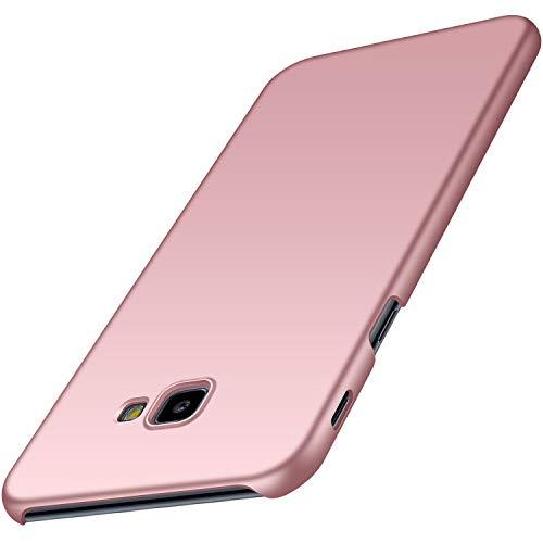 Anccer Cover Samsung Galaxy J4 Plus, [Alta Qualità] [Ultra Thin] Anti-Scratch Hard PC Case Custodia per Samsung J4 Plus 2018 (Oro Rosa Liscio)