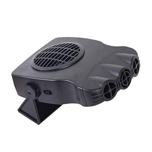 Finelyty Ventilatore di Aria Calda, scaldabagno Portatile Sbrinatore Parabrezza Riscaldamento rapido Ventola di Raffreddamento per Auto Camion 12V