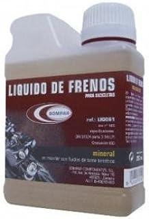 BOMPAR LIQ061 Liquido de Frenos, Unisex Adulto, marrón, 250 ml ...