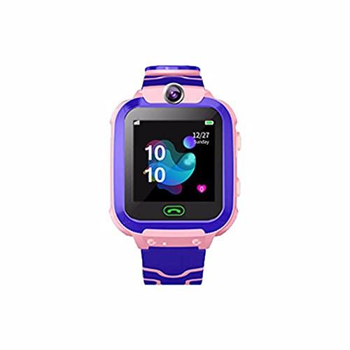Reloj Inteligente Niño ZWRY Reloj Inteligente para niños, Resistente al Agua, posicionamiento SOS, Tarjeta SIM 2G, Reloj Inteligente antipérdida, Reloj Inteligente para niños, Reloj de Llamada