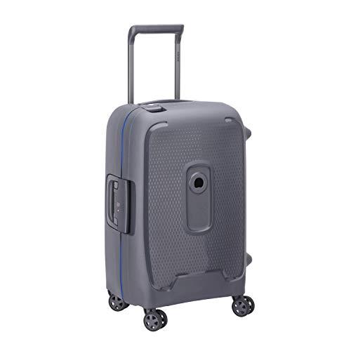 Delsey Paris Moncey Suitcase, 55 cm, 45 L, Grey