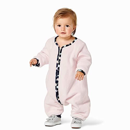 Burda Schnittmuster, 9298, Overall Schlafsack selber nähen [Babys] Level 2 für Anfänger