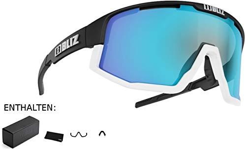 Bliz Fusion M12 Brille matt Black/Smoke with Blue Multi 2020 Sonnenbrille