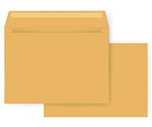 9 x 12 Booklet Envelope - Open Side - 28# Brown Kraft (9 x 12) - Jumbo Series (Box of 1000)