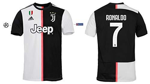 Juventus Turin shirt kinderen 2019-2020 Home UCL Ronaldo 7