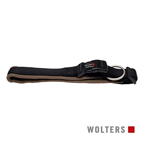 Wolters | Halsband Professional Comfort 50-60cm schwarz/braun | Halsumfang 50 - 60 x B 4,5 cm