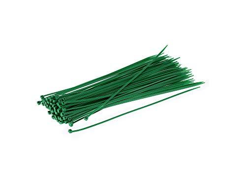 neko Set: 100x Kabelbinder 4,8 x 368mm grün