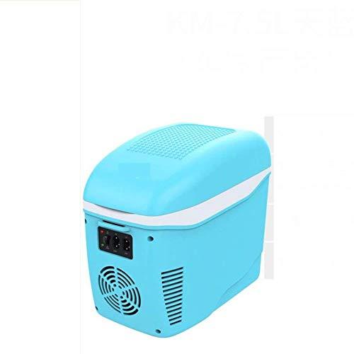 AYDQC Refrigerador de Coches, Mini refrigerador Pequeño Dormitorio Portátil Refrigerador Refrigerador 7.5L Portátil Retro Hogar, Oficina, Coche o Bote-G 32x17x30cm (13x7x12inch) fengong