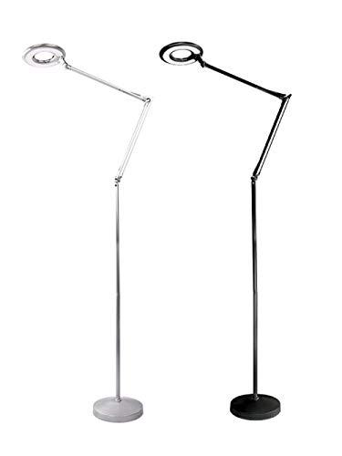XiYou Luz LED para Lectura, Belleza, lámpara de pestañas de Belleza LED, lámpara de pie Plegable-Negro, lámpara de Escritorio con Clip de Aumento