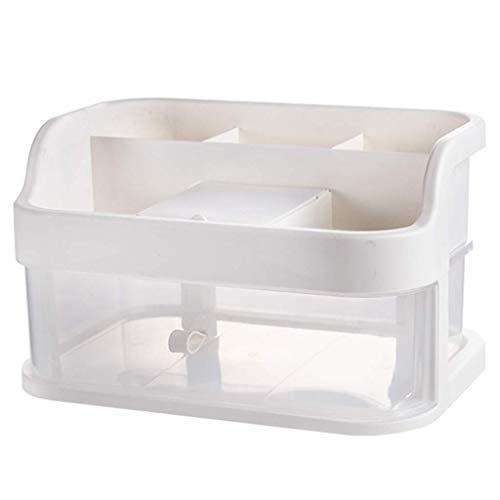 Boîte de rangement pour cosmétiques avec miroir Boîtier pour cosmétiques Type de tiroir de bureau Finition européenne, Deuxième étage, Trois étages (taille: couche)