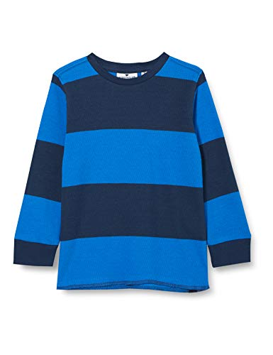 TOM TAILOR Baby-Jungen Pullover, Strong Blue|Blue, 116/122