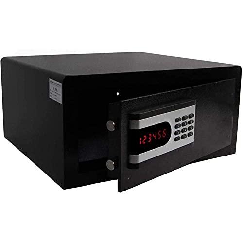 XiYou Caja de Seguridad Segura, depósito de contraseña electrónica Todo de Acero Armario pequeño para el hogar Cuaderno antifalsificación Armario pequeño Empotrado en la Pared Puerta única