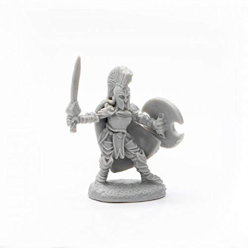 Pechetruite 1 x TAROYA Female Warrior - Reaper Bones Miniatura para Juego de rol Guerra - 77699