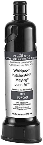 OEM Replacement for Ice Maker Water Filter Whirlpool F2WC9I1 ICE2 for 50 Pound Ice Machines - 1-pack