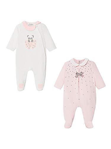 Mayoral 10-02752-019 - Pijama para bebé niña 0-1 Mes