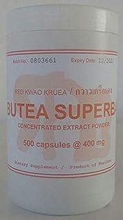 Tongkatali.org's Giant Size Butea Superba Extract 500 Capsules