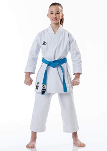 Tokaido Karateanzug Kata Master Junior WKF 12 oz für Kinder Mädchen Jungen (130)