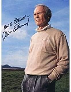 clint eastwood autograph