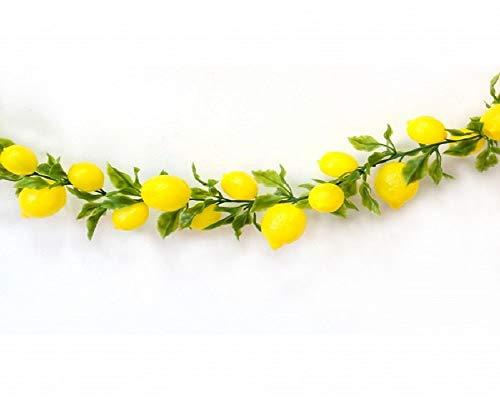Ghirlanda Limoni Finti Lunga 200 cm.