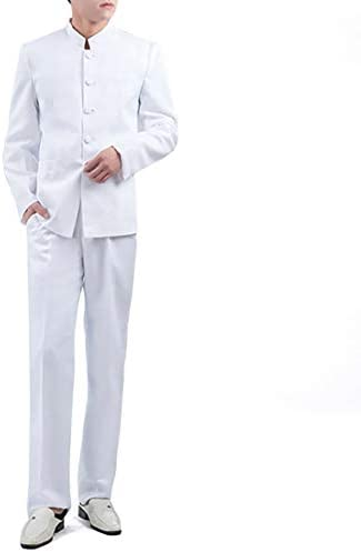 Chinese collar suit _image1
