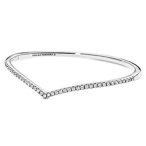 PANDORA Damen-Charm-Armbänder 925 Sterlingsilber zirkonia 597837CZ-1