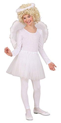 Widmann 1934A - kinderkostuumset engel, heilige billen, vleugels en rok, 3-delig