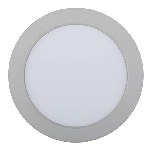 Heitronic Deckenleuchte LED Panel Kallisto Weiß | LEDs fest verbaut 840lm tageslichtweiß | 23158