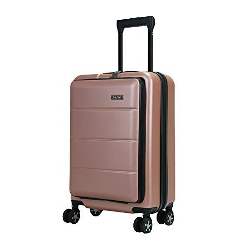 SunRuck サンルック 前ポケット付スーツケース 33L Sサイズ TSAロック搭載 機内持ち込み スーツケース キャリーケース キャリーバッグ 旅行バッグ 旅行鞄 トローリーケース トローリーバッグ トロリーバッグ 旅行 レジャー 宿泊 1泊 2泊