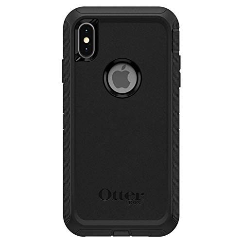 OtterBox Defender Series Case for iPhone Xs Max (ONLY), Case Only - Bulk Packaging - Black