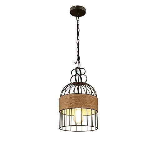 IT Lampadario, luce di soffitto del lampadario a bracci della gabbia di uccello del metallo di figura Chandelier Forte trasmissione della luce casa Agriturismo Luce Lampade Lampade da soffitto