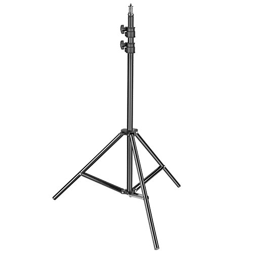 Neewer Robuster Leichter Ständer, 92-200 cm, Verstellbarer Fotoständer, stabiles Stativ für Reflektoren, Softboxen, Lichter, Schirme mit 8 kg Tragkraft