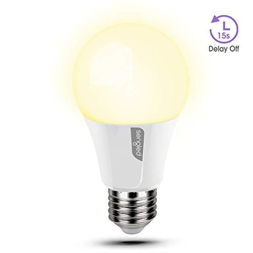 Sengled Twilight Ampoule E27 LED Blanc chaud 2700K avec extinction différée de 15 Secondes, équivalent de 60W, 8W, pour couloir, escaliers, vestiaires, lot de 1