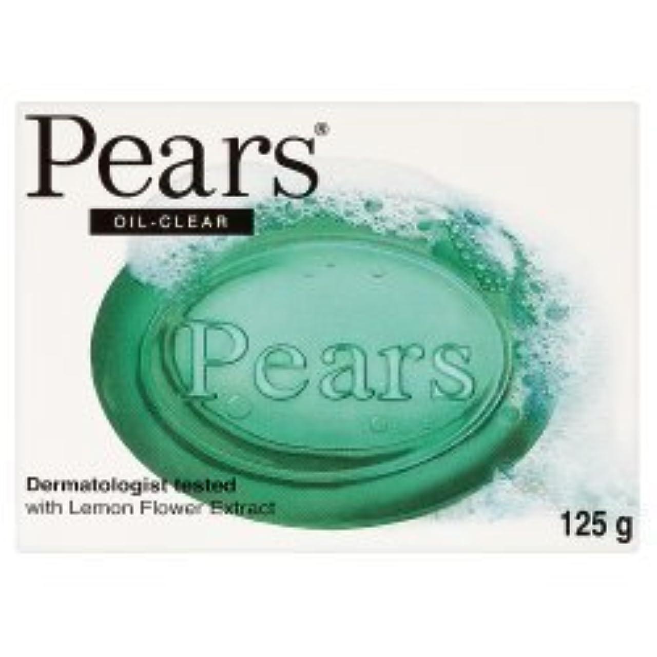 刈る浮浪者征服Pears Oil Clear Bar Soap ( 125g x 12 x 1 ) by Pears