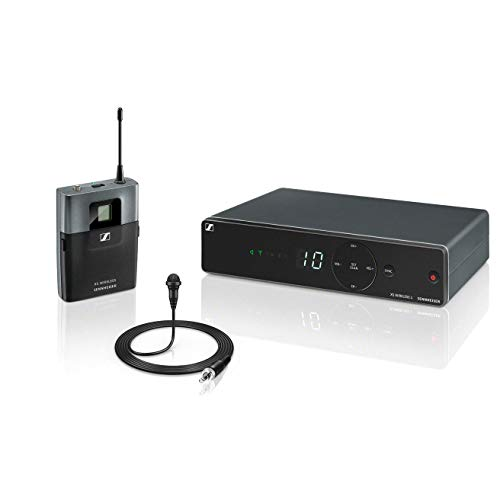 Sennheiser XSW 1-ME2-B UHF draadloze dasspeld microfoon set