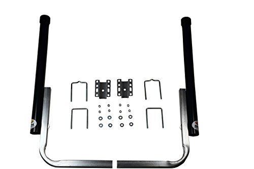 """CE Smith Trailer PVC Boxed Post Guide-On, Black, 40""""- Replacement Parts and Accessories for Your Ski Boat, Fishing Boat or Sailboat Trailer"""