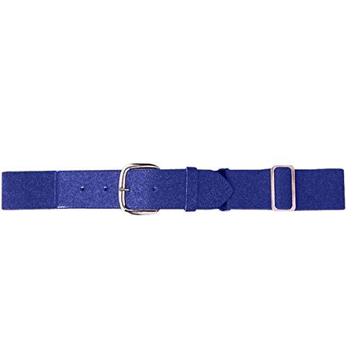 Purple Adult Baseball/Softball Adjustable Elastic Belt