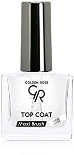 GOLDEN ROSE QUICK DRY TOP COAT WITH MAXI BRUSH 10 ml