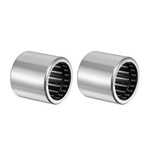 uxcell Needle Roller Bearings, One Way Bearing, 25mm Bore 32mm OD 30mm Width 2pcs