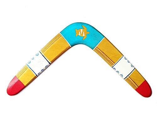 Boomerang de madera, para niños y adultos. Deporte, ocio, regalo y decoración. DIESTRO. Ideal regalo, celebración, despedida, amistad, recuerdo.
