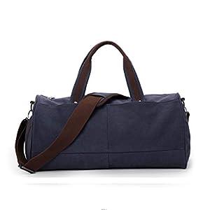 Bolsas de Gimnasia Bolsa portátil de viaje bolsa de gran capacidad del bolso del equipaje de los hombres bolsa de mano…